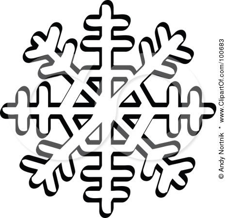 White Snowflake Clipart Transparent Background | Clipart Panda - Free ...
