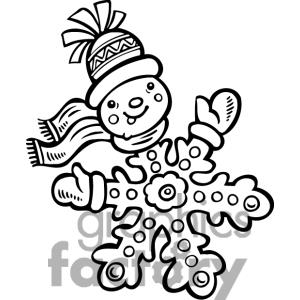 white20snowflake20clipart20transparent20background - Christmas Images Black And White