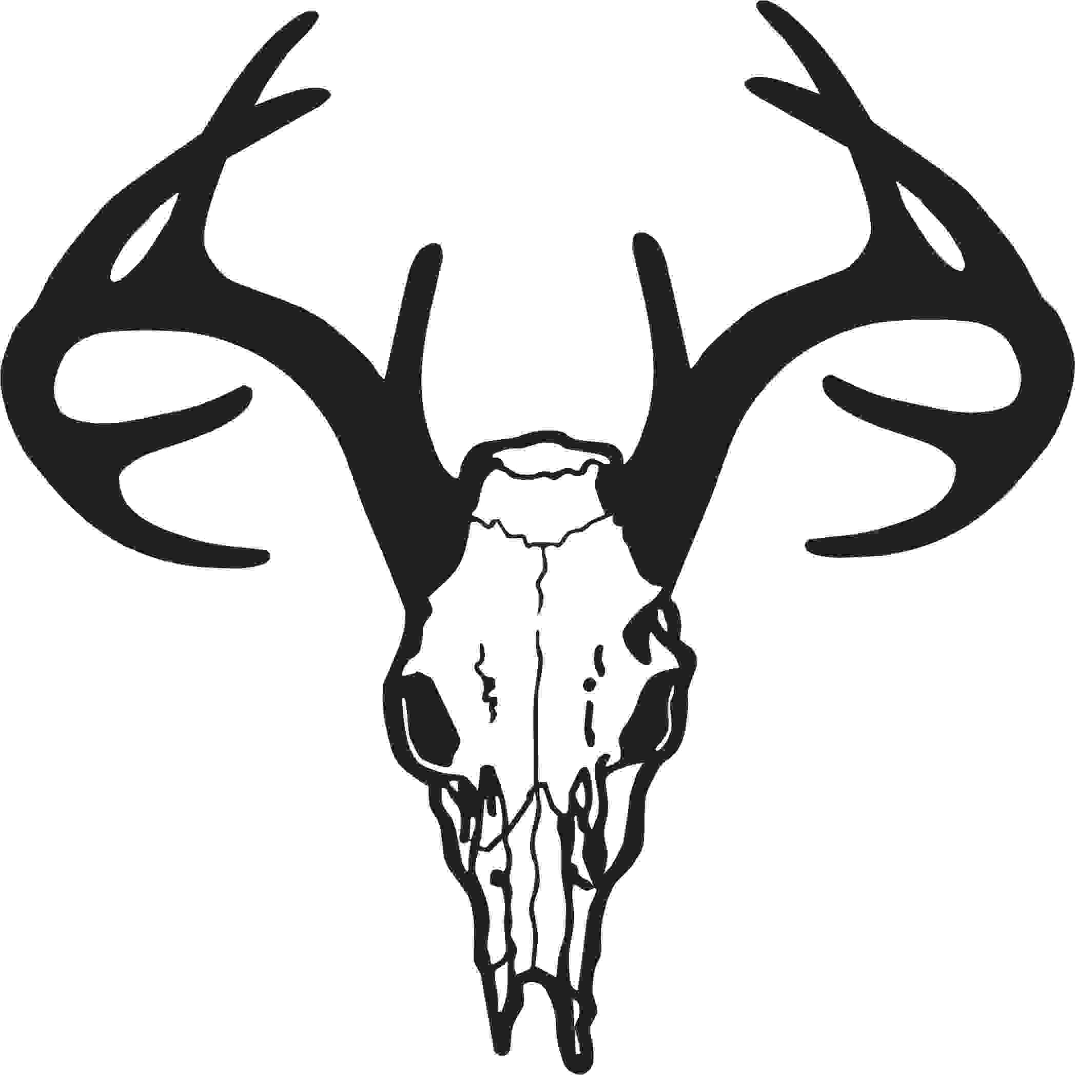 Whitetail Deer Clip Art Black And White on feet on high wire