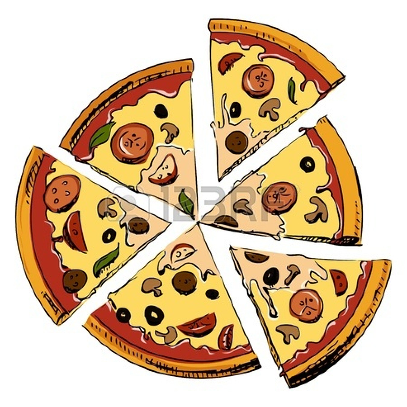 Whole Cheese Pizza Clipart | Clipart Panda - Free Clipart Images