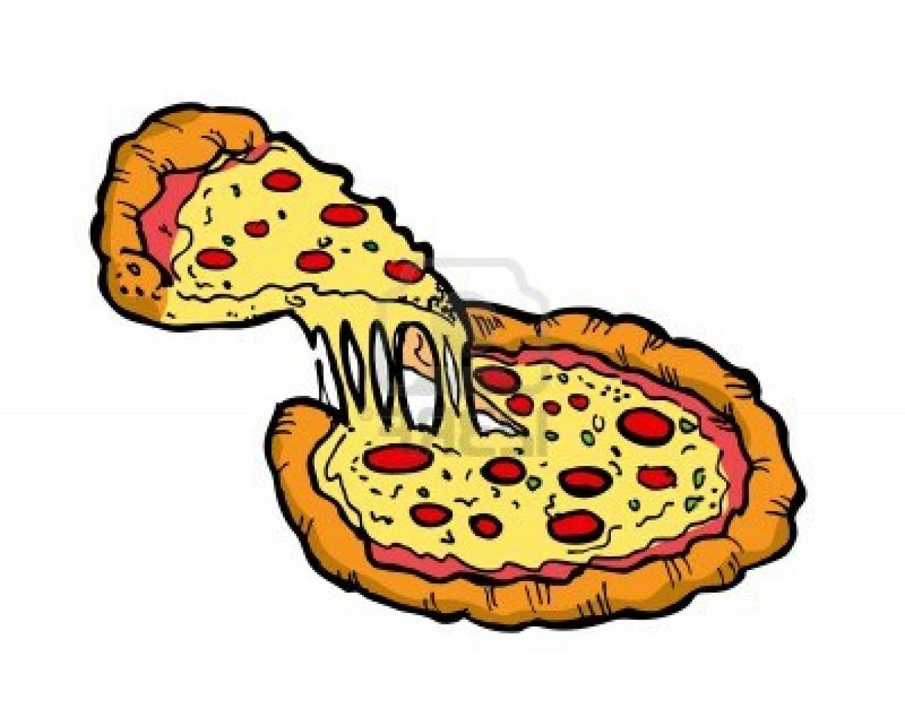 free pizza graphics clipart - photo #1