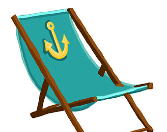 Clip Art Beach Chair Clipart beach chair clipart black and white panda free clipart