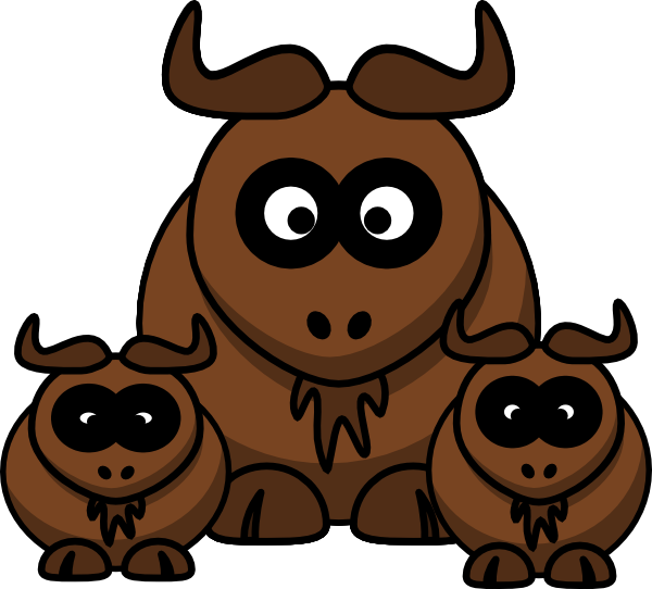 Wildebeest 20clipart | Clipart Panda - Free Clipart Images