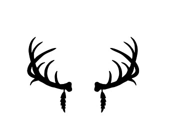 Vintage Images Deer Antlers Dogs as well Deer antlers in addition Whitetail Deer Clip Art Images additionally Deer Head Clipart Black And White moreover Fishing Hook Heart Clipart. on deer antler art projects