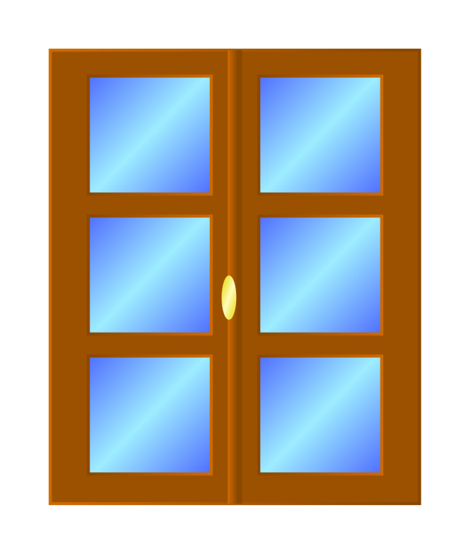 Closed Window Clipart