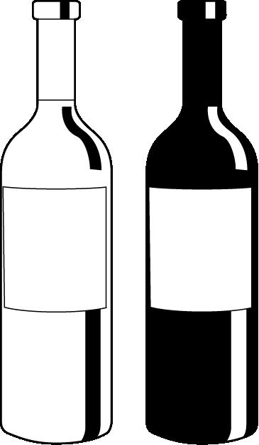 wine bottle clipart 12 365x628 | Clipart Panda - Free ...