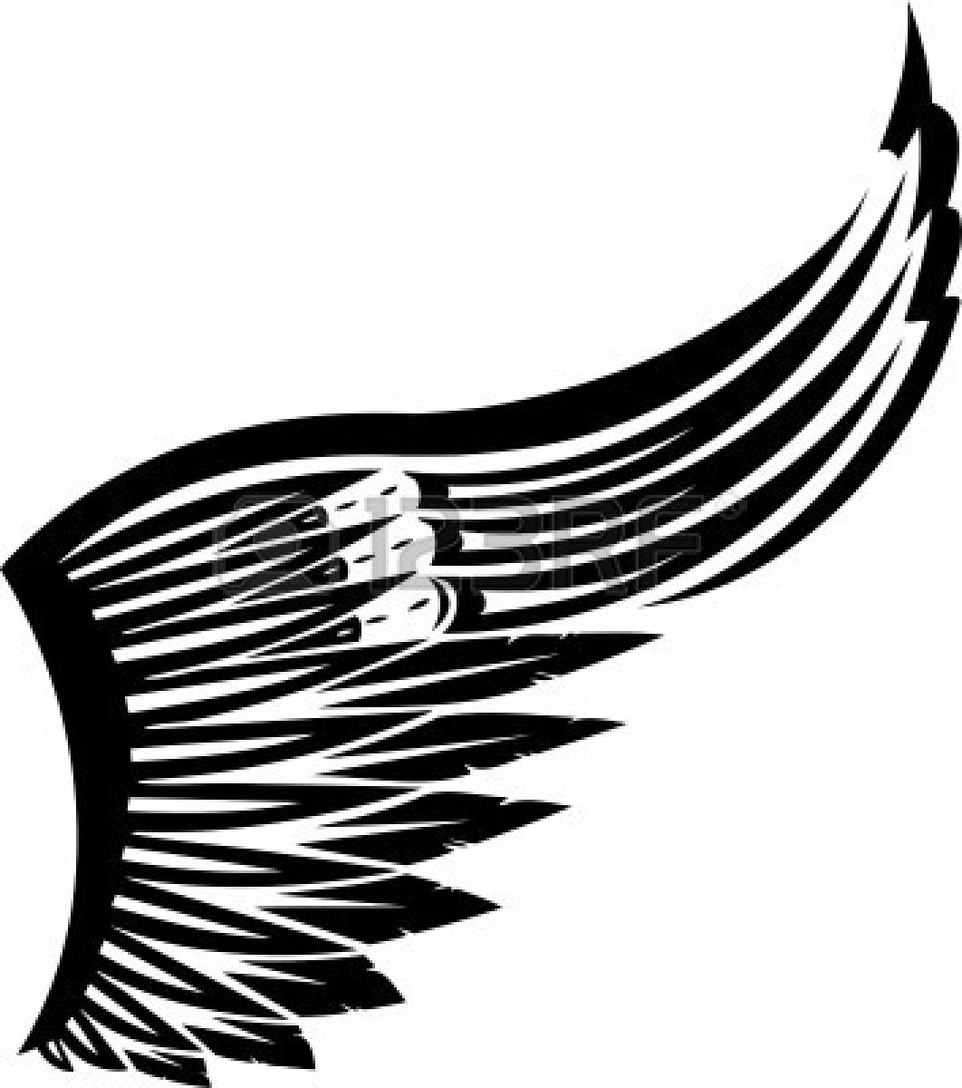 wings 20vector  Eagle Wings Logo Design