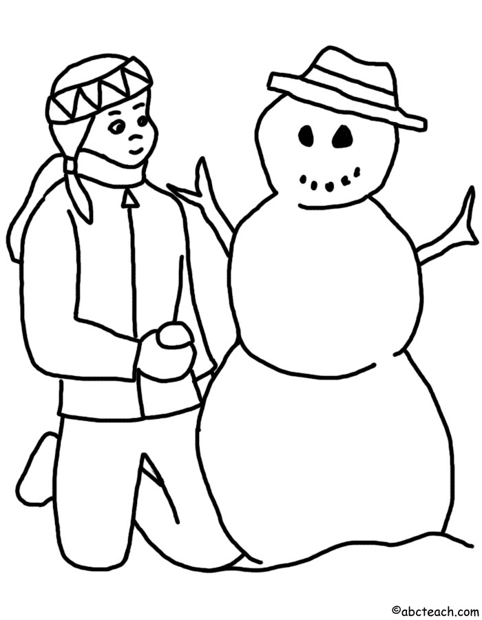 Winter Clip Art Black And White | Clipart Panda - Free ...