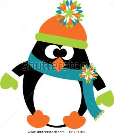 Winter penguin clip art winter penguin clip art