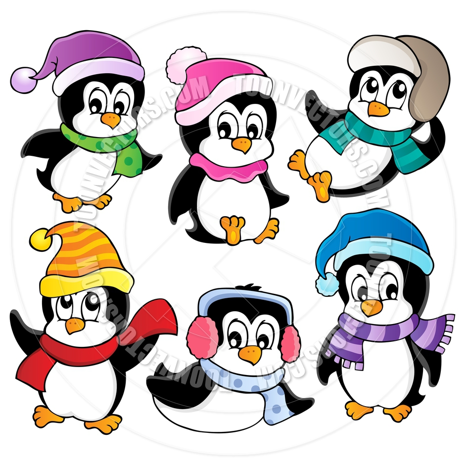 clipart panda winter - photo #36