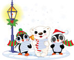winter%20polar%20bear%20clipart