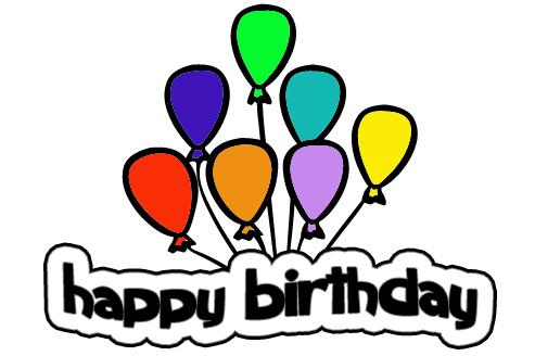 birthday balloons clip art clipart panda free clipart images rh clipartpanda com free clip art for birthday invitations free clip art for birthday sister in law