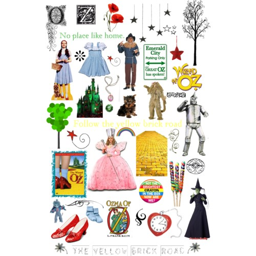 Wizard Of Oz Clipart Yellow Brick Road | Clipart Panda - Free Clipart ...
