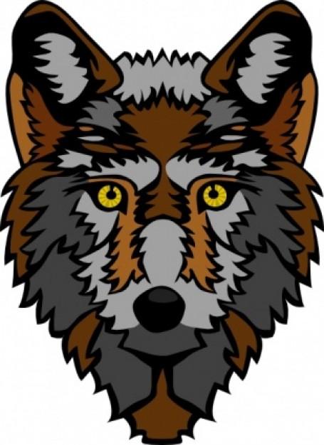 stylized wolf head clip art clipart panda free clipart images rh clipartpanda com  wolf head clip art free