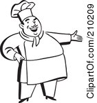 woman%20cooking%20clipart%20black%20and%20white