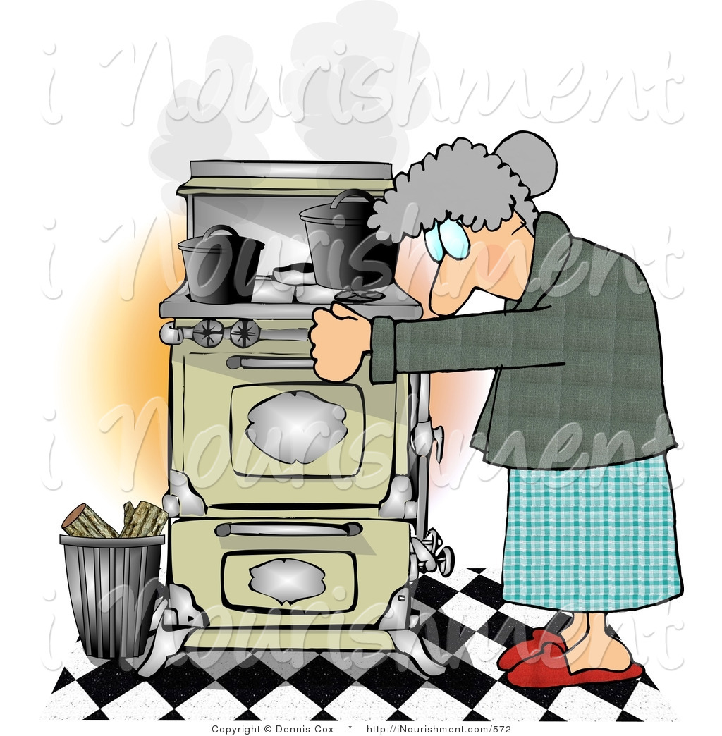 Young Woman Cooking Royalty Free Cliparts, Vectors, And Stock Illustration.  Image 10596176.