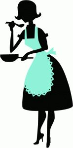Woman Cooking Silhouette | Clipart Panda - Free Clipart Images