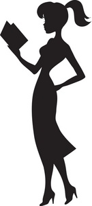 woman%20reading%20clipart
