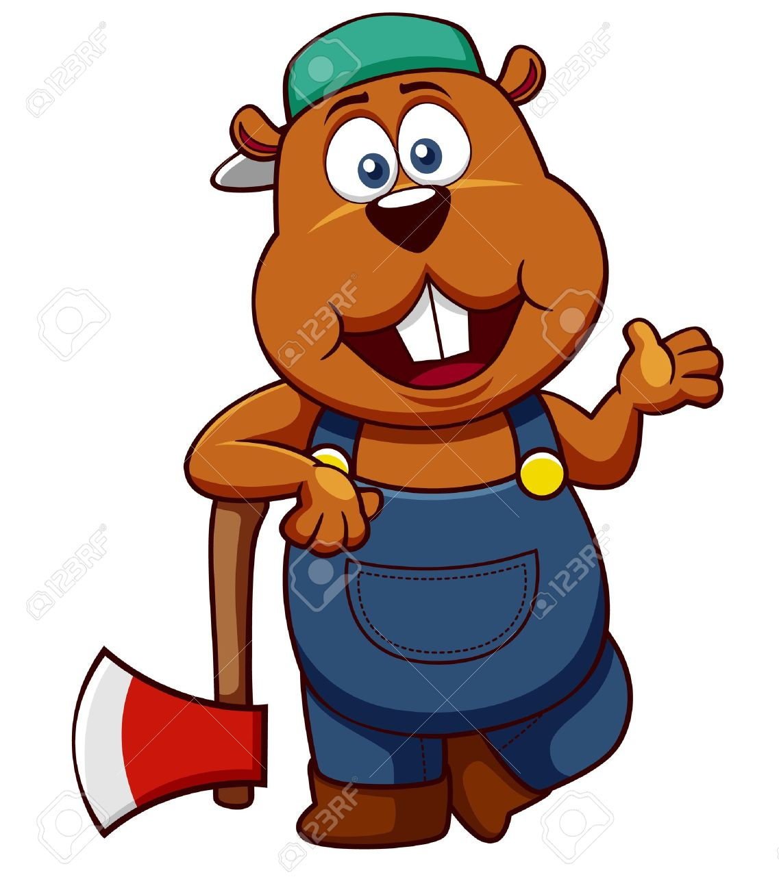 Woodchuck Clip Art Illustrations  Clipart Guide