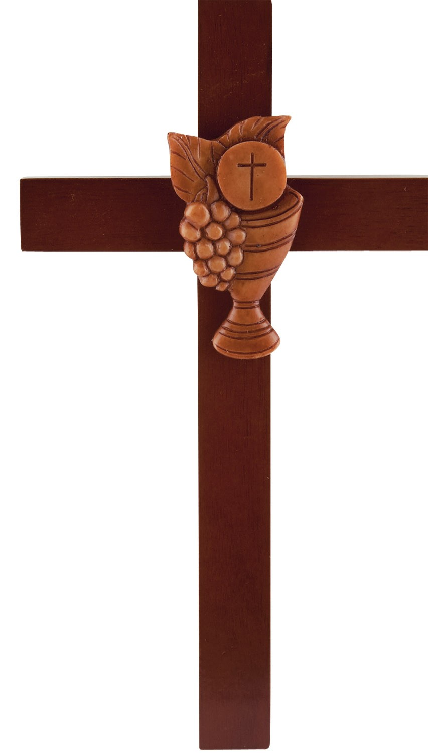 First Communion Wooden Cross | Clipart Panda - Free Clipart Images