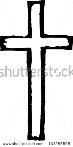 wooden%20cross%20clipart%20black%20and%20white