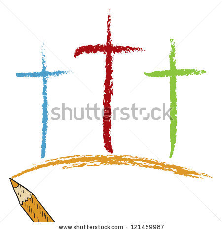 Wooden Cross Sketch Clipart Panda Free Clipart Images