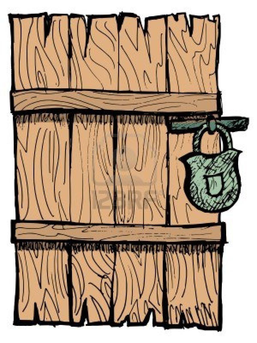 Old wooden door clipart - Wooden 20door 20clipart