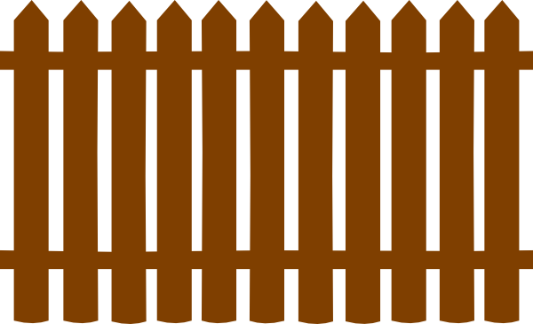 Wooden gate clipart panda free images