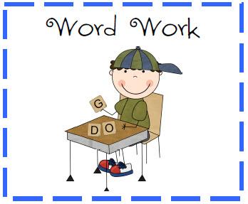 Word Work - Mrs. Mallon's 3rd Grade Class