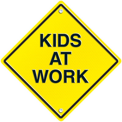 kids at work two sided clipart panda free clipart images