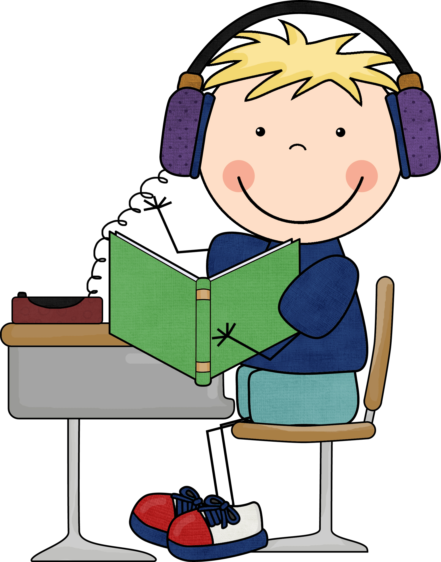 Listen To Reading Clipart