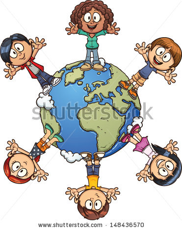 World Map Clip Art For Kids | Clipart Panda - Free Clipart Images