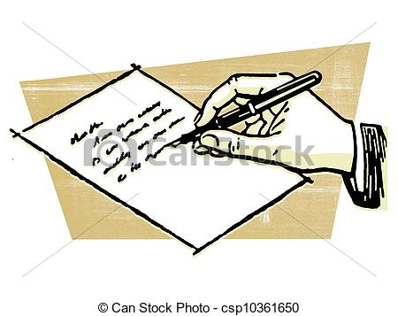 writing an envelope