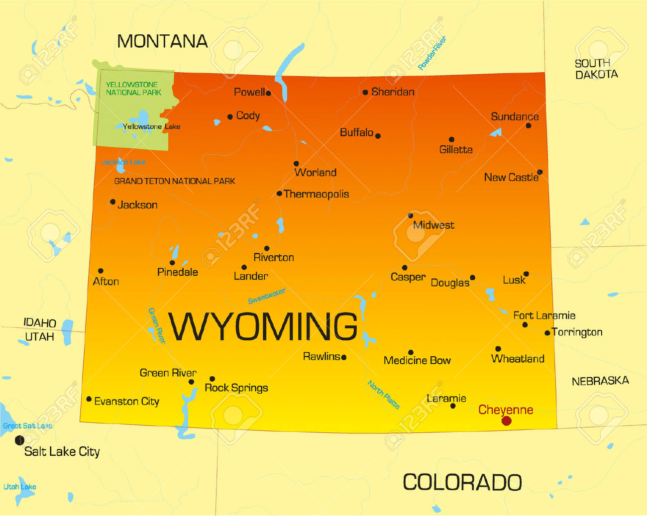 Wyoming Power of Attorney Forms