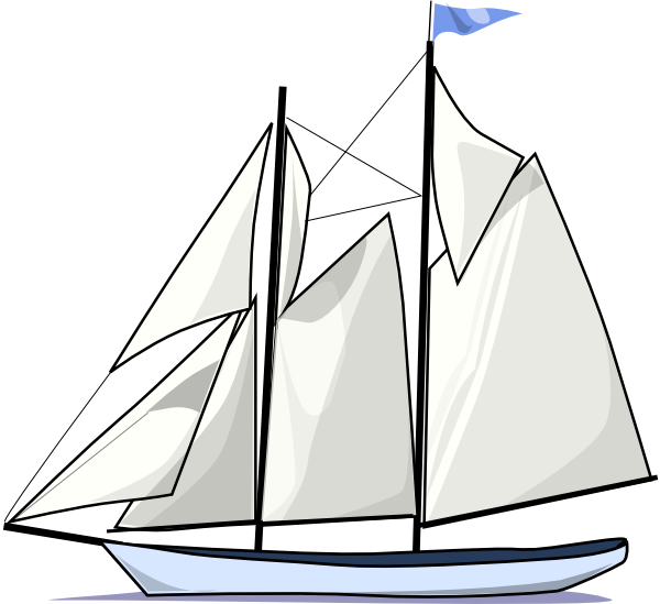 Simple Sailboat Drawing | Clipart Panda - Free Clipart Images