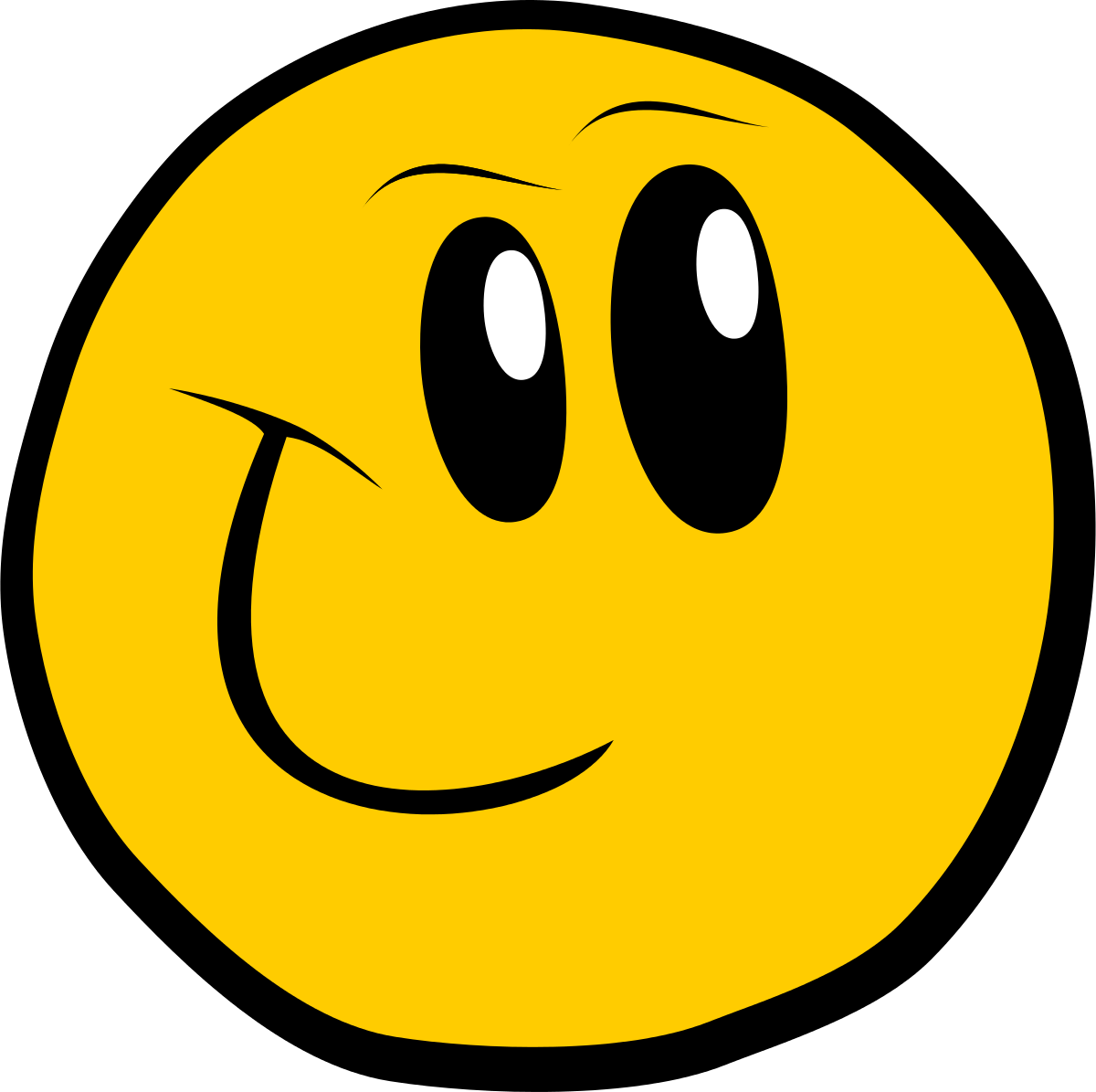 Smiley Face Clip Art Yearbook