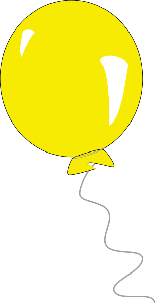 Clipart Balloon Man