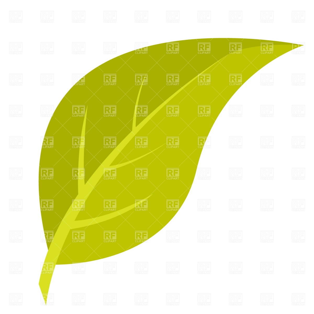 free clipart green leaf - photo #42