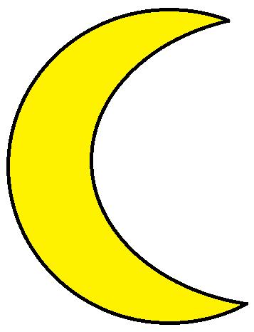 yellow moon clipart clipart panda free clipart images rh clipartpanda com Scary Moon Clip Art Moon and Stars Clip Art