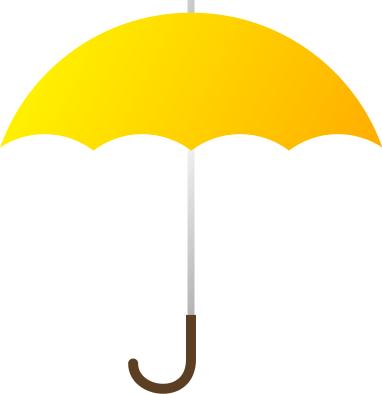 Yellow Umbrella Clipart | Clipart Panda - Free Clipart Images