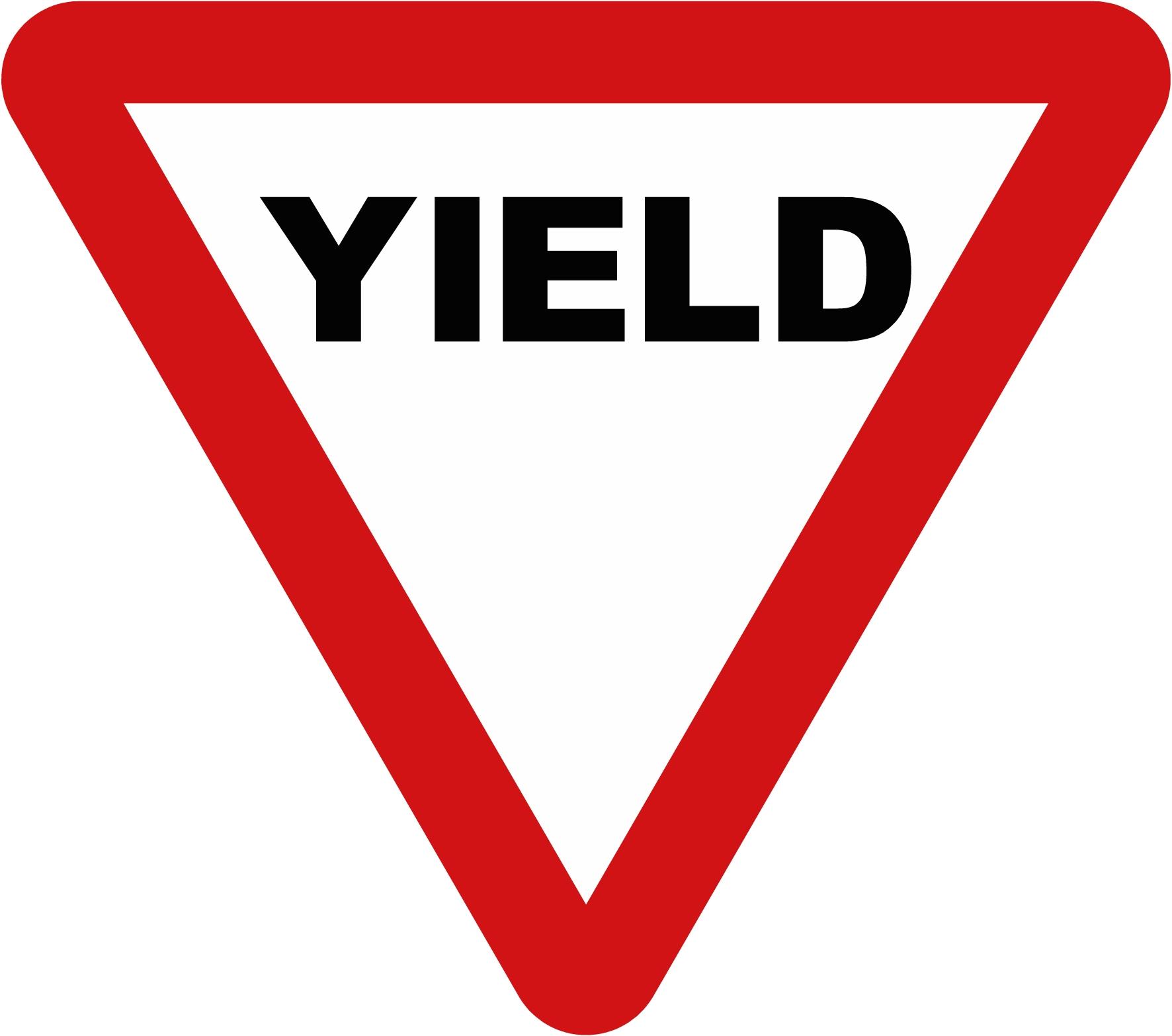 yellow yield sign clipart clipart panda free clipart images rh clipartpanda com yellow yield sign clip art yield traffic sign clip art