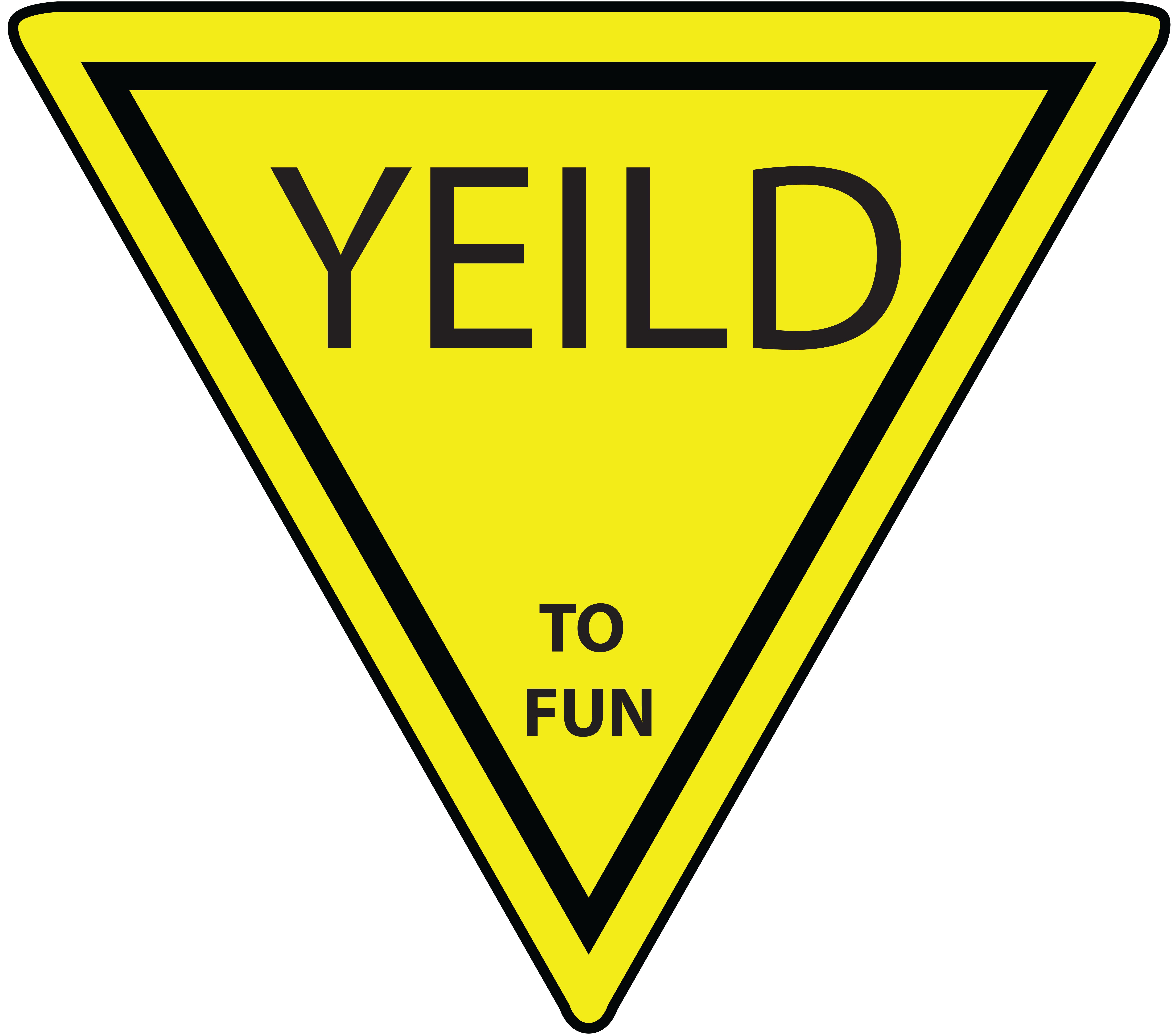 yield signs clip art viewing clipart panda free clipart images rh clipartpanda com  yield sign clip art free
