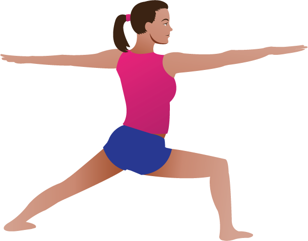 Yoga Pose 1. | Clipart Panda - Free Clipart Images
