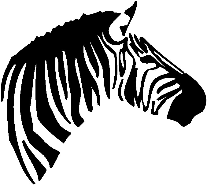 Zebra head clipart clipart panda free clipart images zebra20clipart20black20and20white pronofoot35fo Gallery