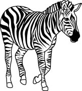 Zebra Clipart Black And White | Clipart Panda - Free ...