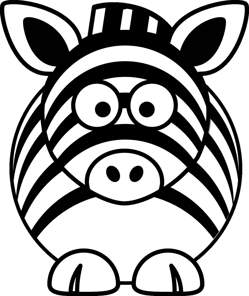 zebra%20clipart%20black%20and%20white