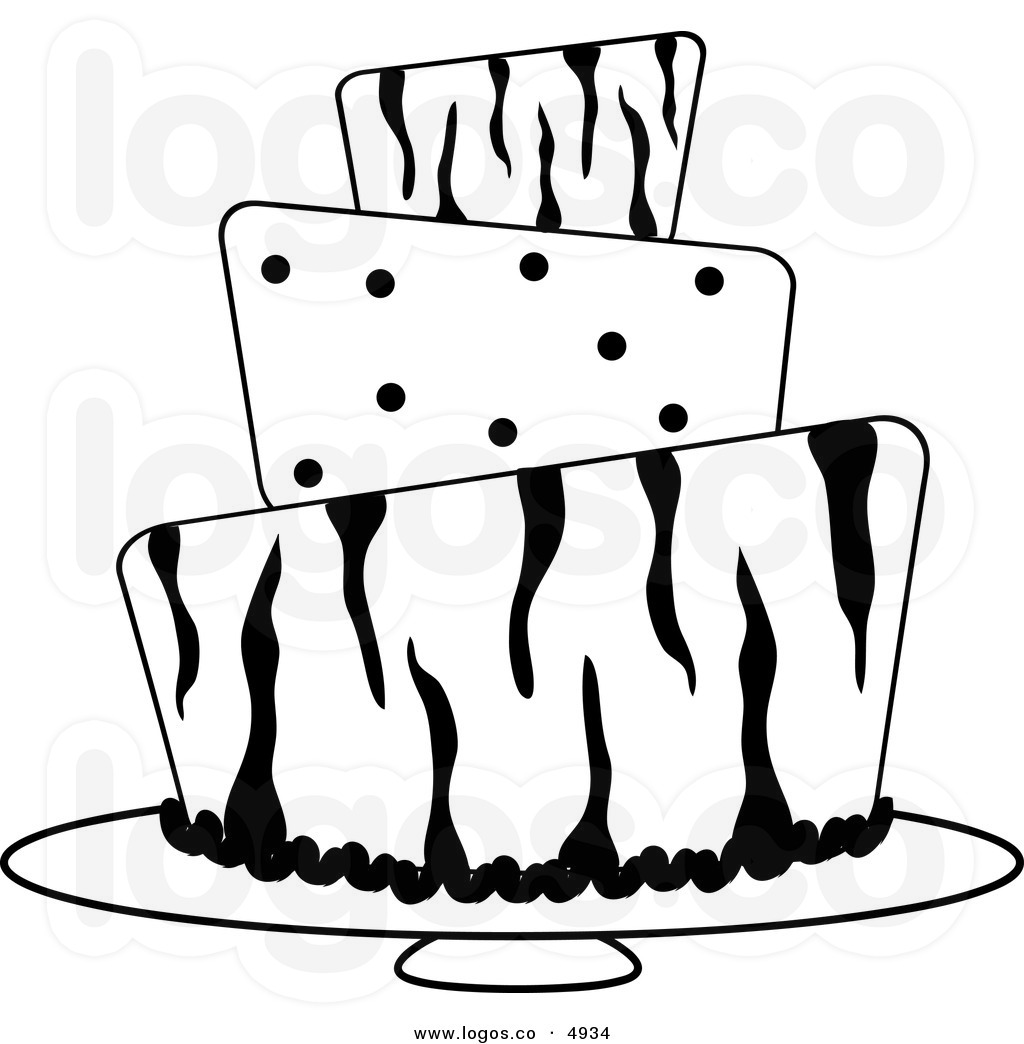 ... Of Cake Clipart Black And White | Clipart Panda - Free Clipart Images