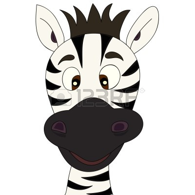 zebra head : Zebra cartoon | Clipart Panda - Free Clipart ...