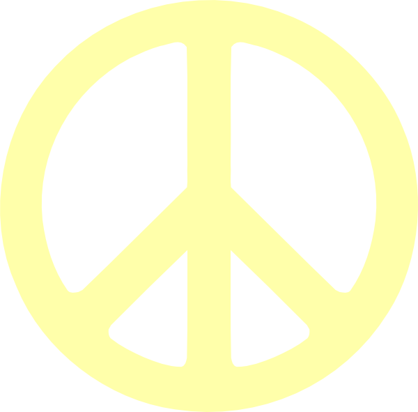 Peace Sign Clip Art Clipart Panda Free Clipart Images