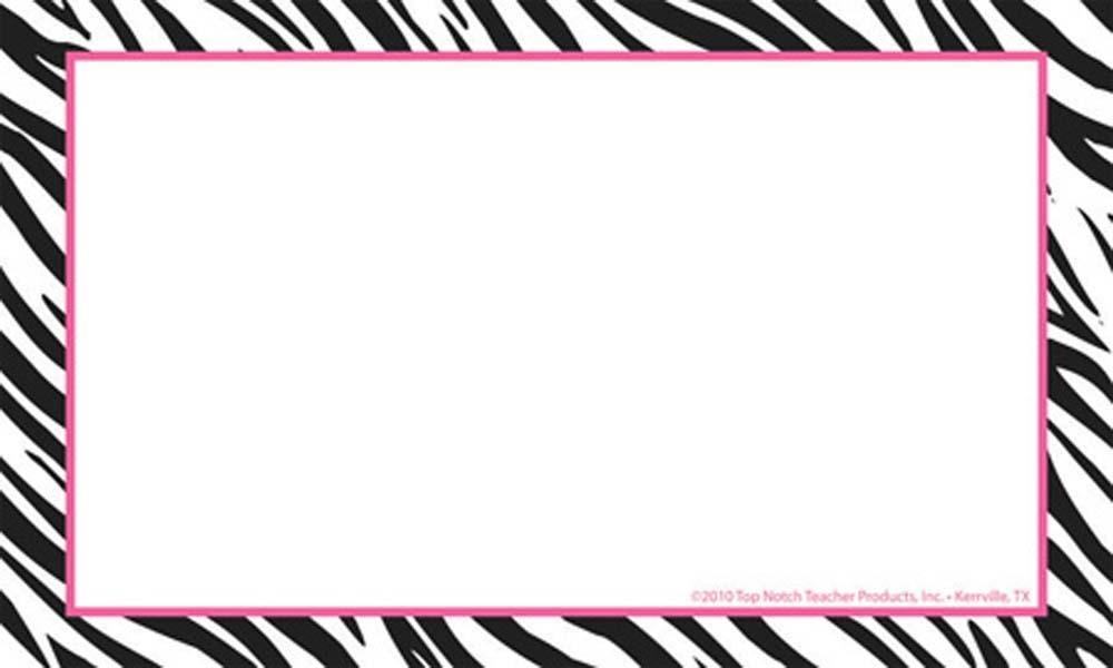 Zebra Print Clipart | Clipart Panda - Free Clipart Images